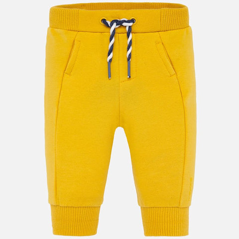 Mayoral Baby Boy Yellow Sweatpants