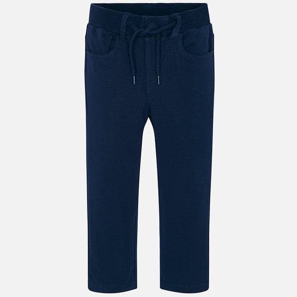 Mayoral Boys Casual Pants Blue
