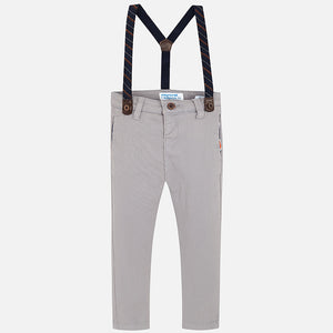 Mayoral Boys Stone Trousers Slim Fit