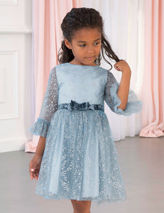 Abel & Lula Glittery Tulle Dress