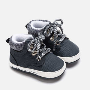 Mayoral Newborn Boys Navy Pre-Walker Shoes