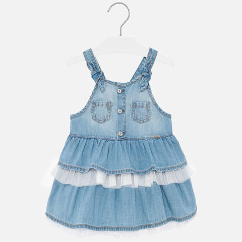 Mayoral Denim Overall Dress