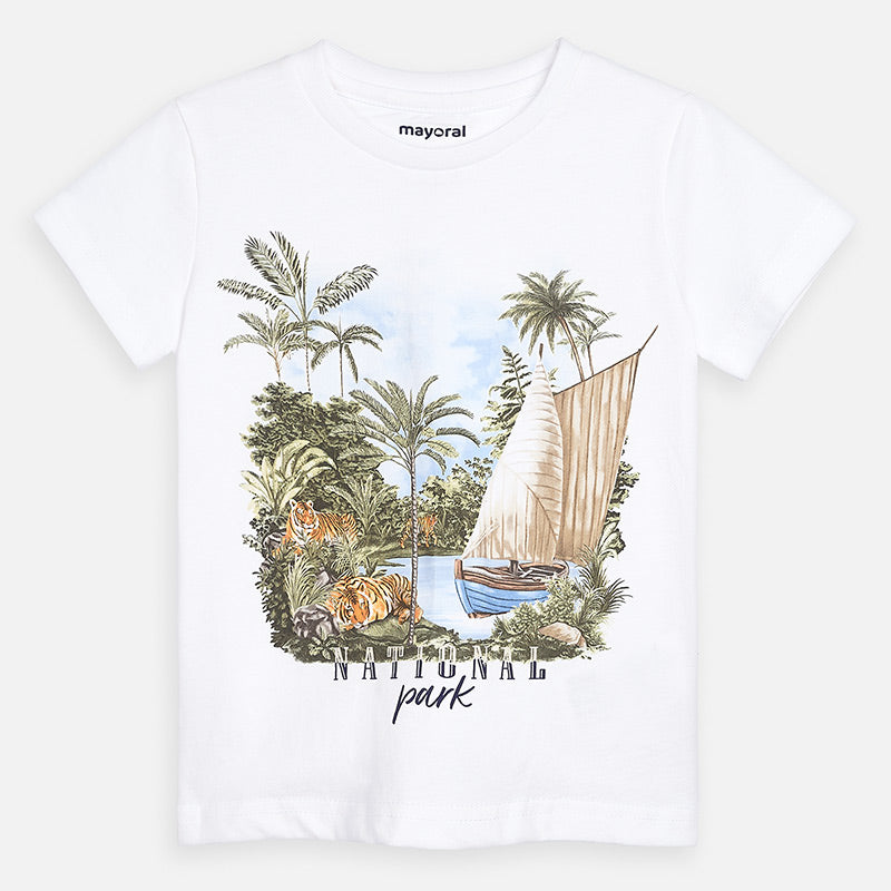 Mayoral Boys National Park Graphic T-Shirt