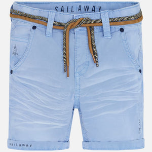 Mayoral Boys Cotton Blue Bermuda Shorts