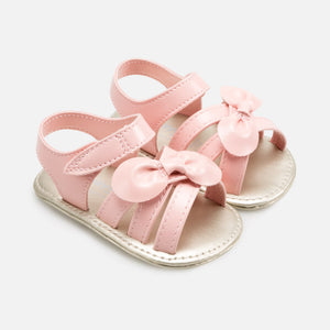 Mayoral Girls Pink Bow Sandals