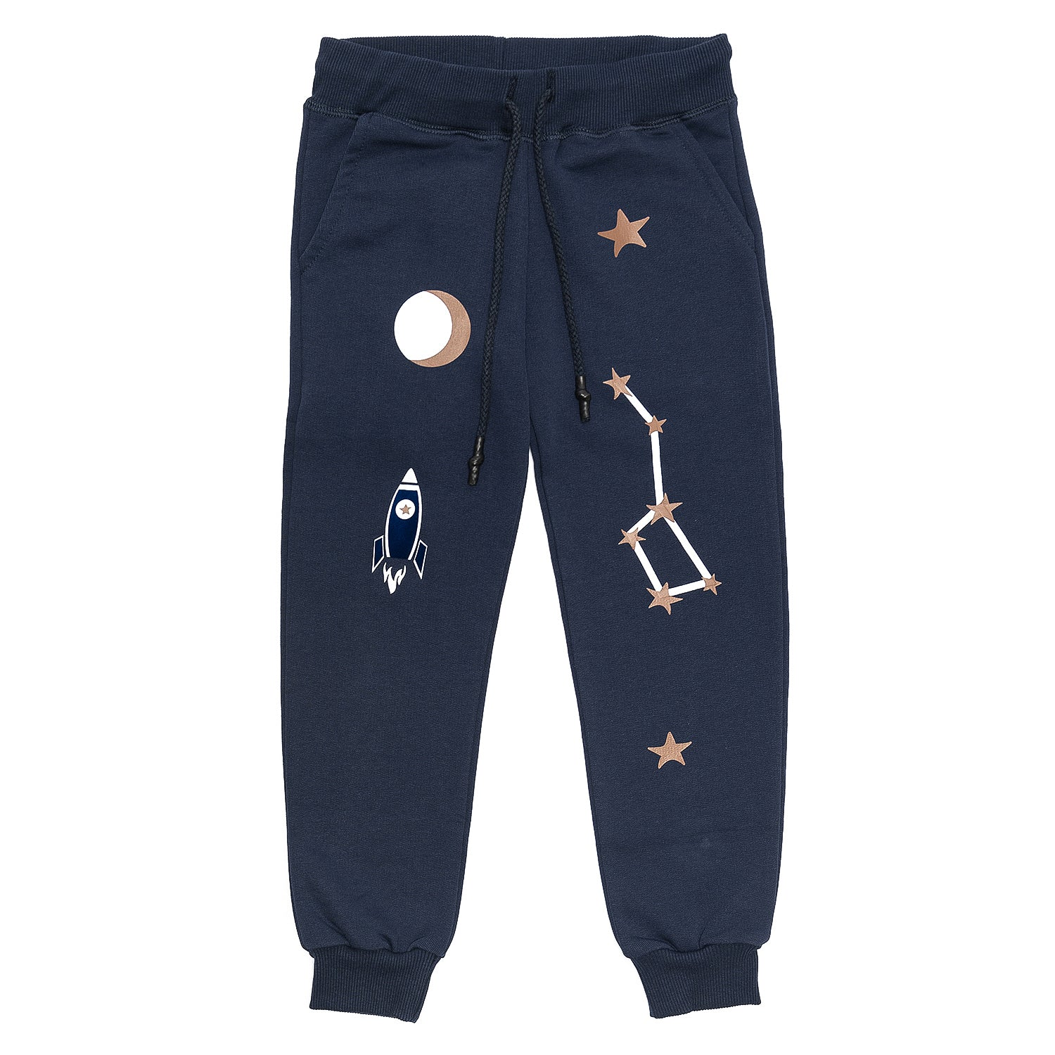 Monnalisa Felpa Planet Sweat Pants