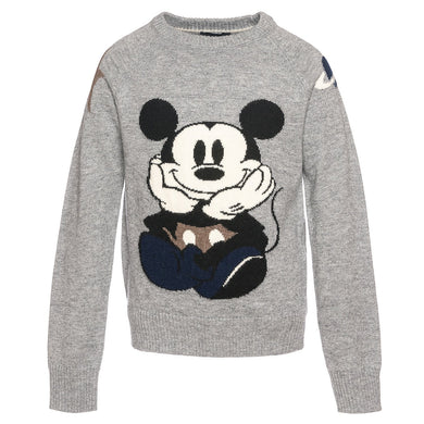Monnalisa Mickey Mouse Planet Sweater