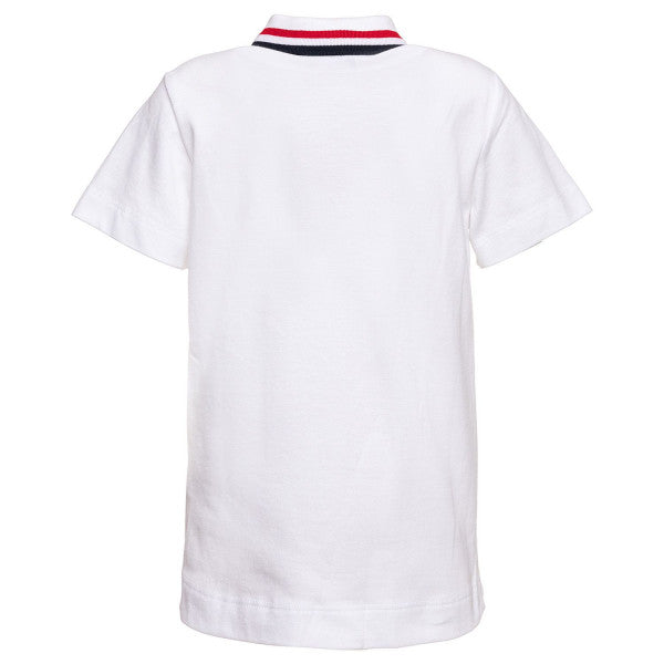 Monnalisa Boys Striped Collar Polo