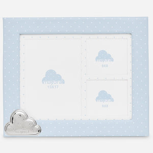 Mayoral Baby Blue Polka Dot Picture Frame