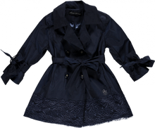 Piccola Speranza Navy Blue Raincoat