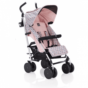 Fendi Pink Monster Logo Stroller