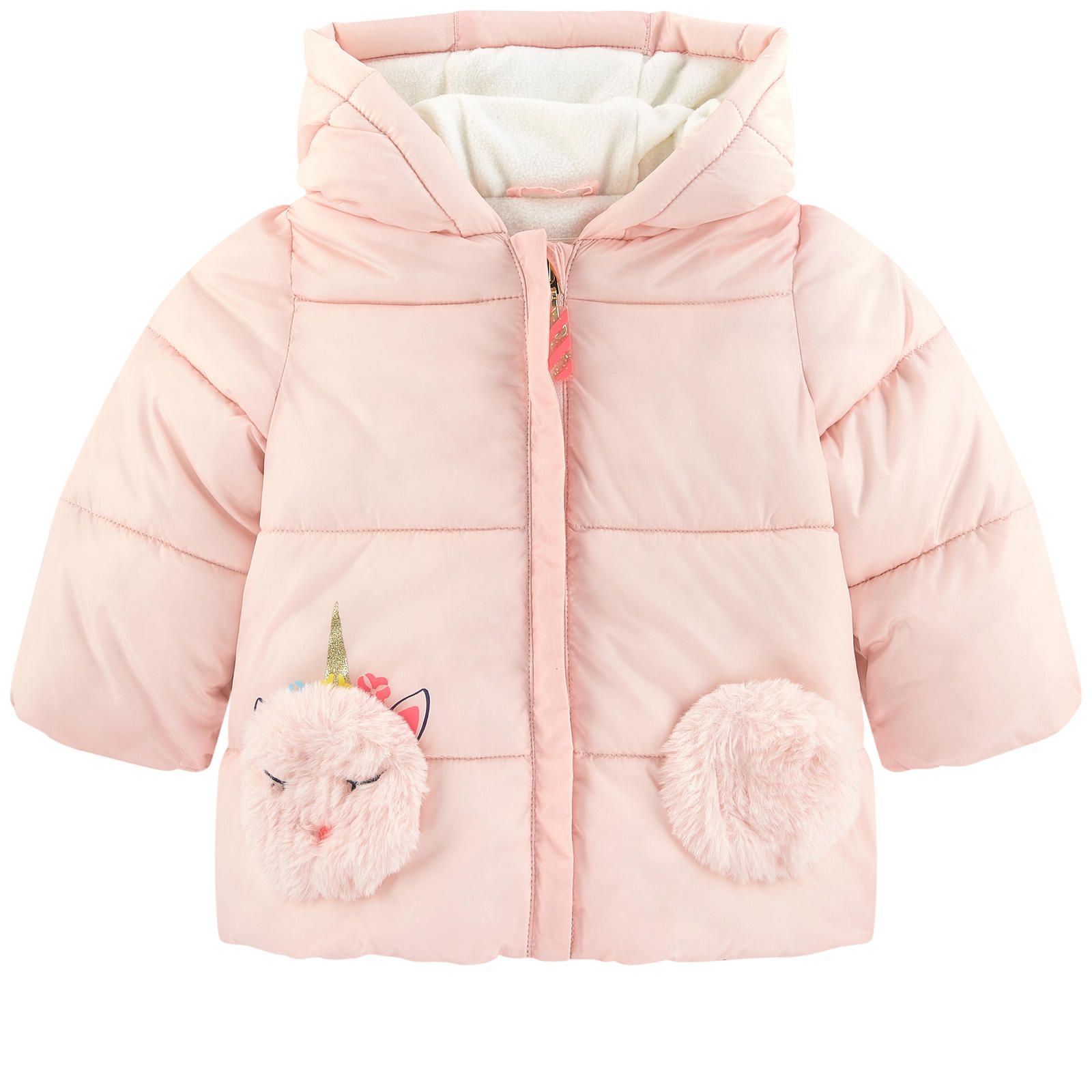 Billieblush Fleece-Lined Padded Coat