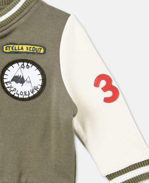 Stella McCartney Parsley Khaki Fleece Jacket