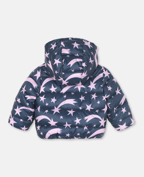Stella McCartney Kids Stars Puffer Jacket