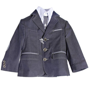 Gattimatti Dark Blue/White Suit