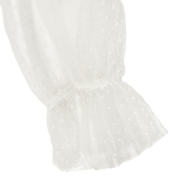 Monnalisa Girls Ivory Rose Dress