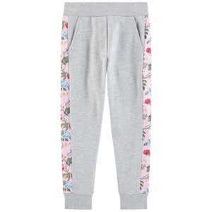 Monnalisa Girls Glam Fleece Tracksuit Pants