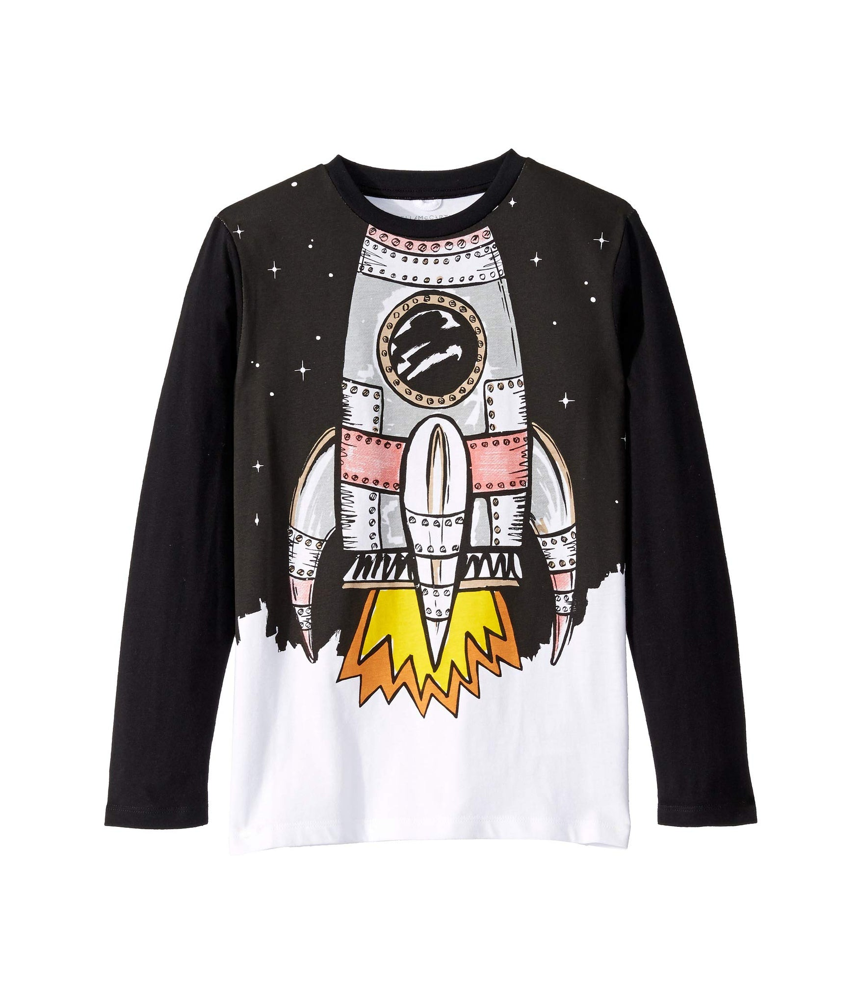 Stella McCartney Boys Black Space Shuttle Top