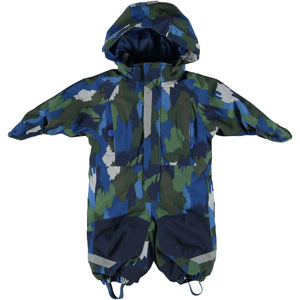 Stella McCartney Baby Boy Camouflage Printed Snowsuit