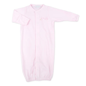 "Magnolia Baby Pink ""Worth The Wait"" Embroidered Converter"