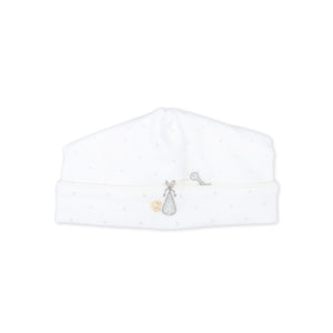 "Magnolia Baby White ""Worth The Wait"" Print Hat"