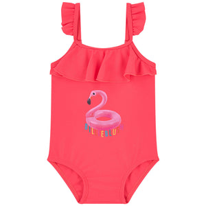 Billieblush Flamingo One-Piece