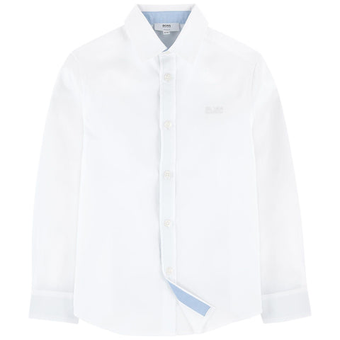 BOSS Kids Mini Me White Shirt