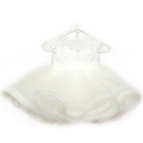 Snow White Beaded Cupcake Tulle Dress