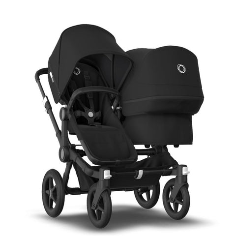Bugaboo Donkey 3 Duo Seat and Bassinet Stroller - Black Frame