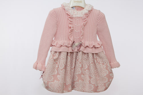Carmen Taberner Girls Pink Princess Dress