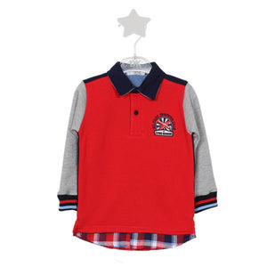 "Dr. Kid ""Flying Academy"" Polo Sweater"