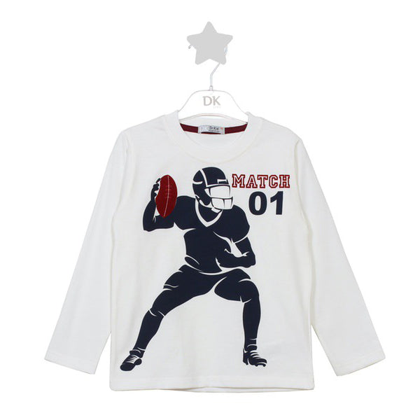 Dr. Kid Quarterback Cotton Long Sleeve Shirt