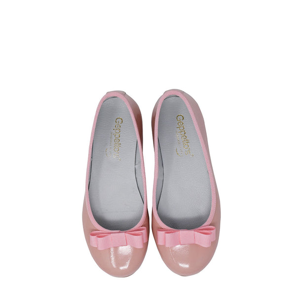 Geppetto's Pink Patent Ballet Flats