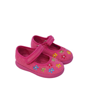 Geppetto's Terry Cloth Mary Janes