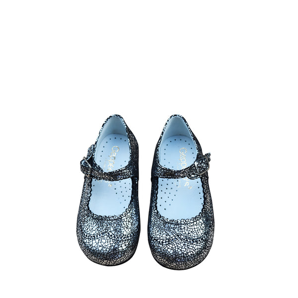 Geppettos Girl Mary Janes Crackled Mosaic