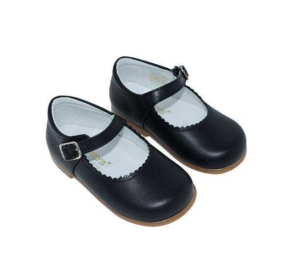 Geppetto's Toddler Mary Jane Leather Shoes