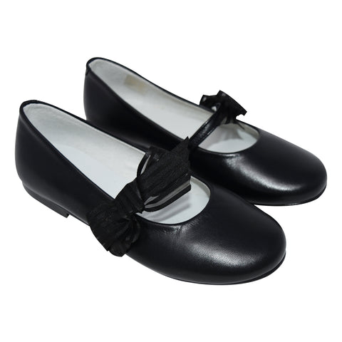 Geppetto's Girl's Mary Jane Galaxy Black Shoes