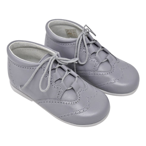 Geppetto's Lace up Grey Shoes
