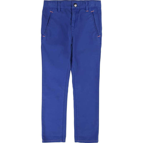 Billybandit Boys Cotton Blue Chino Trousers