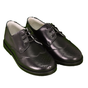 Geppetto's Boy Black Saddle Shoes