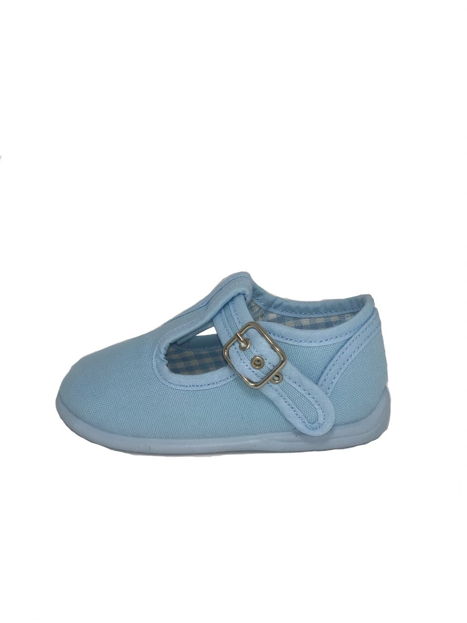 Gepo Baby Blue Canvas Shoe