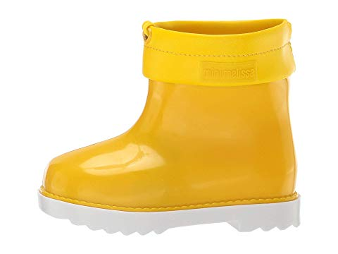 Mini Melissa Rain Boot (Toddler/Little Kid) Yellow