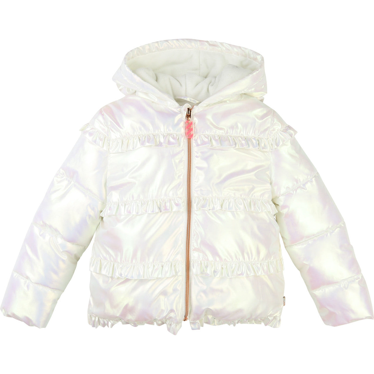 Billieblush Girls Pearlised Puffer Jacket