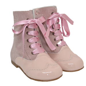 Geppetto's Girl's Pink High Boots