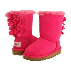 UGG Bailey Bow Boots Hot Pink