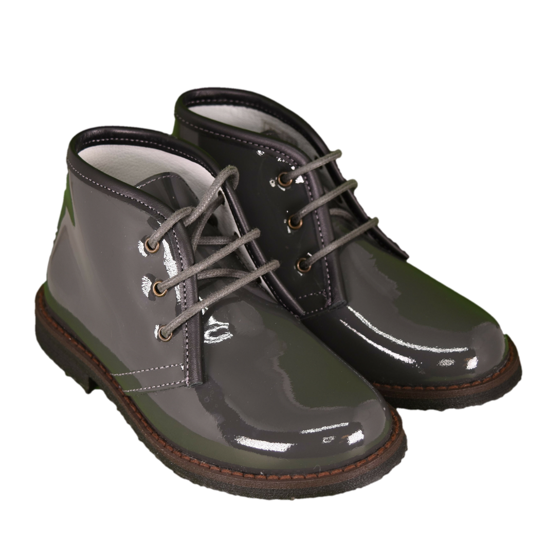 Geppetto's Boys Lace Up Ankle Boots