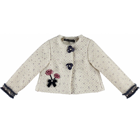 Piccola Speranza Girls Chanel Coat