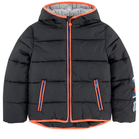 Billybandit Boys Black Puffer Jacket