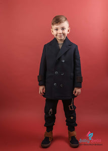 Monnalisa Boys Double Breasted Jacket