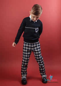 Bimbalo Young Gentleman Plaid 4 Pcs